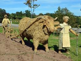 2011 Strohskulpturen